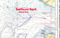 Map of Swiftsure Bank