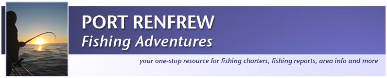 Port Renfrew Fishing Adventures Logo and Home Page