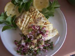 Mint Halibut